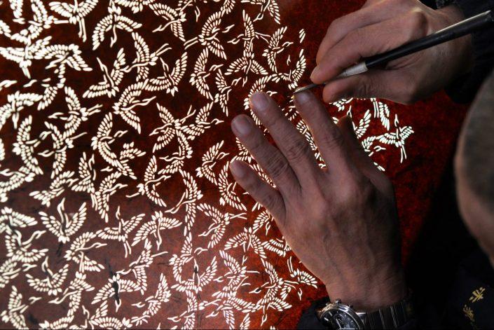 Yuzen Engraving